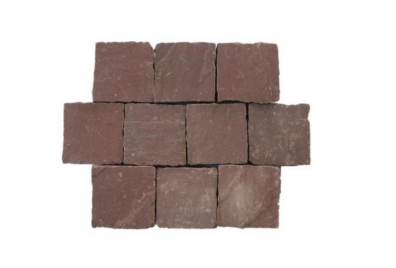 Pflastersteine aus Sandstein