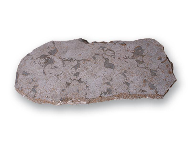 Polygonalplatten aus Muschelkalk