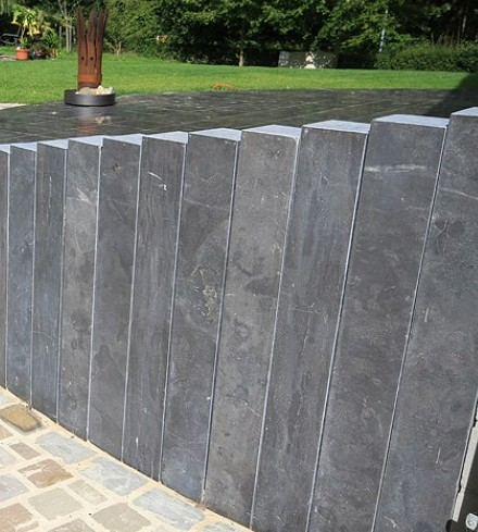 Palisade Kalkstein BLUE STONE 12x12