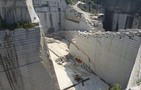 Steinbruch in China